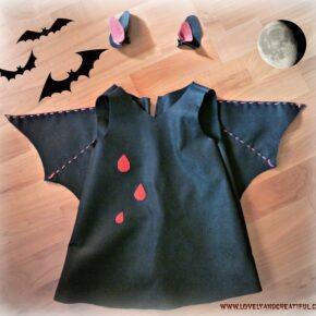 Halloween: Disfraz de murciélago para bebé