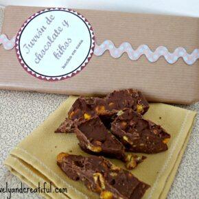 Receta navideña: Turrón de chocolate y kikos