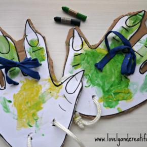 Pies de dinosaurio