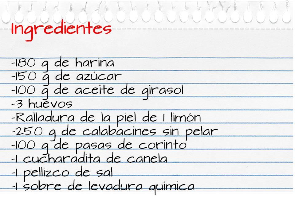 Ingredientes_bizcocho_calabacín