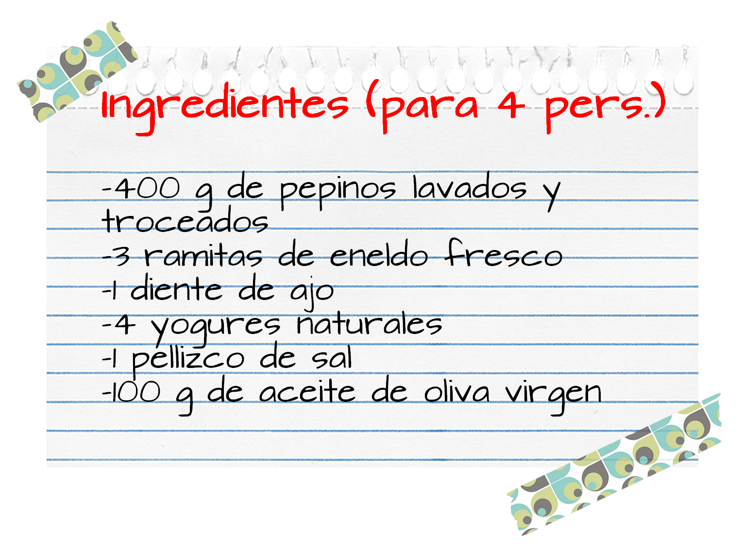 Ingredientes_sopa_pepinos_yogur