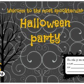Invitaciones Fiesta de Halloween