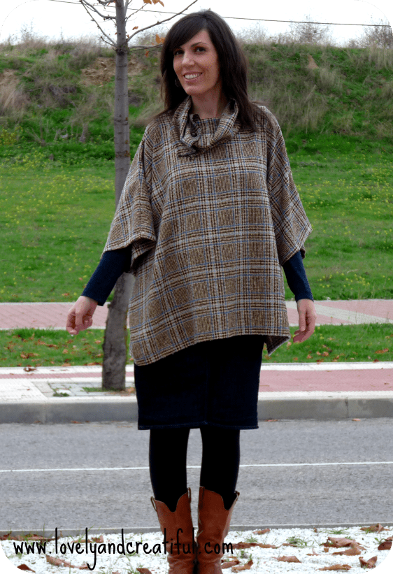 Poncho. Patrón incluido | Lovely And Creatiful