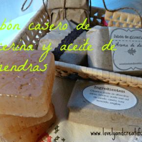 Jabón de glicerina y canela