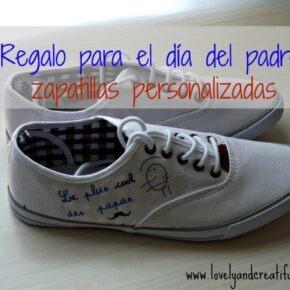 Regalo día del padre: zapatillas personalizadas