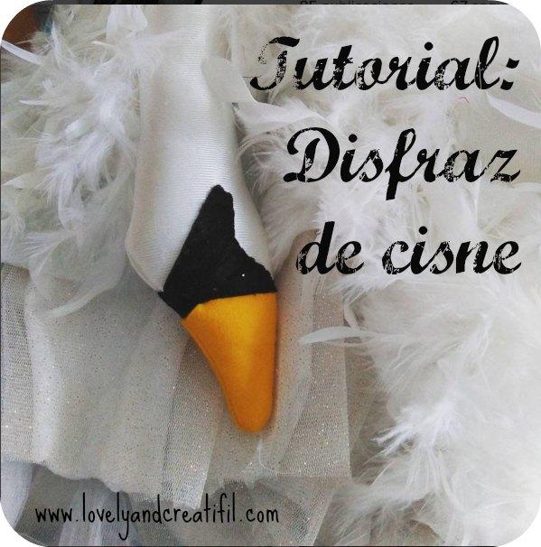 Disfraz de cisne 1