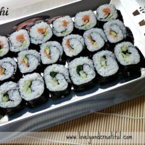 Vídeo receta: Maki shushi