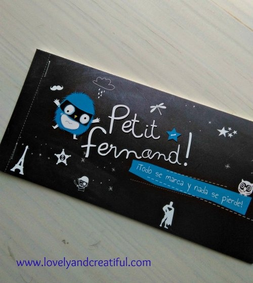 Etiquetas Petit Fernand 1