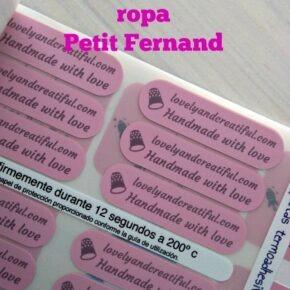 Petit Fernand – Etiquetas y objetos personalizados para niños