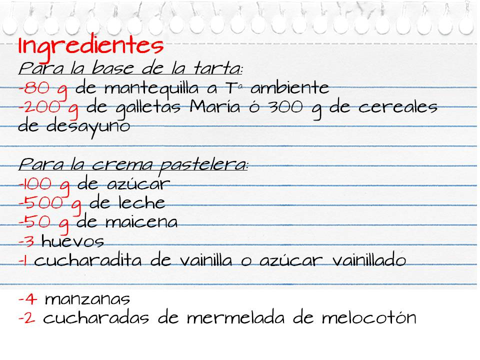 Ingredientes_tarta_manzana