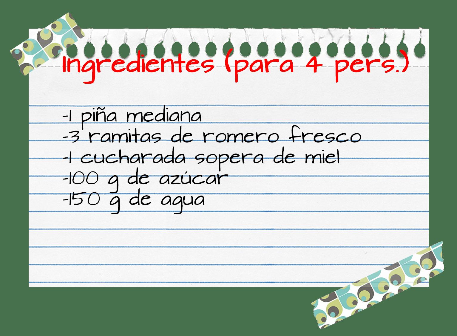 Ingredientes_sorbete_piña_romero