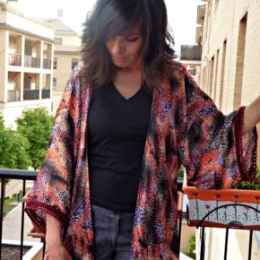 Confeccionate un kimono para el otoño!