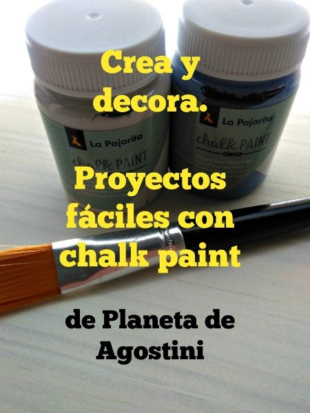 Colección chalkpaint planeta de agostini 2