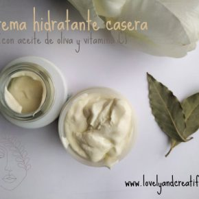 APRENDE a hacer crema hidratante casera con aceite de oliva. [Cosmética DIY]