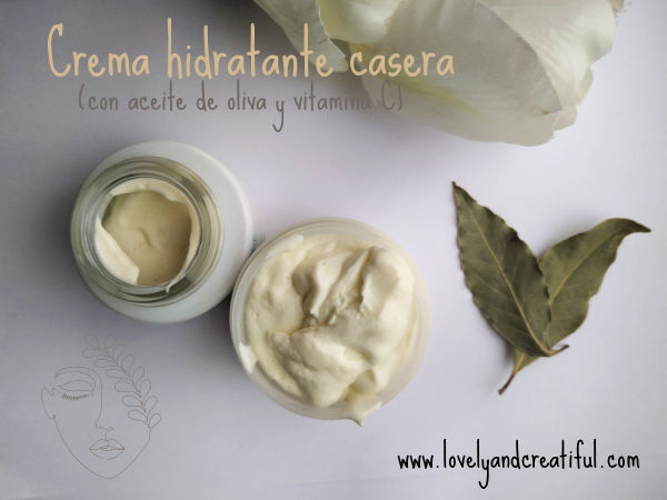 como hacer crema hidratante casera antioxidante